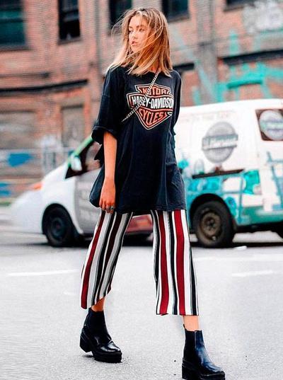 Biar Kekinian dengan Oversized T-Shirt, Inspirasi Berikut Patut Ditiru!