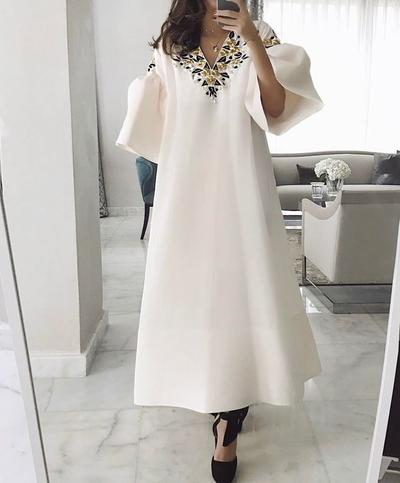 Bell Sleeves Dress