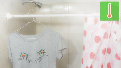 Gantung Baju Di Dalam Kamar Mandi Saat Kamu Mandi