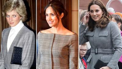 Punya Gaya Fashion yang Ikonik, Ini Bedanya Style ala Putri Diana, Kate Middleton, dan Meghan Markle
