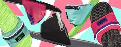 #NEWS Gemas Abis, Koleksi Baru Nike Benassi Sliders Ini Punya Desain Fanny Pack yang Unik!