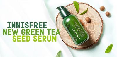 #NEWS Ladies, Inilah Info Menarik Mengenai Innisfree Green Tea Seed Serum Versi Terbaru!