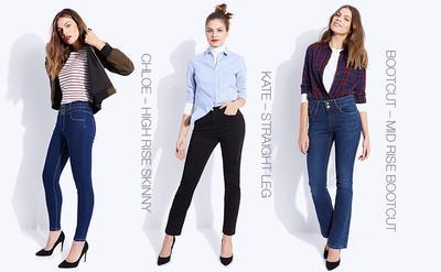 Pusing Memilih Celana Jeans? Simak Tips Menyesuaikannya dengan Bentuk Tubuh Kamu Yuk!