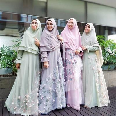 Sederhana dan Elegan, Tips Style Hijab Syar'i Pesta untuk Kondangan Ini Wajib Kamu Tahu
