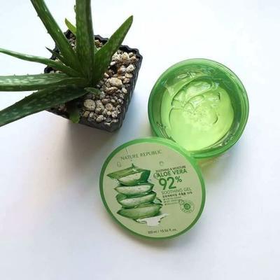 #FORUM Terbukti! Hasil Pemakaian Aloe Vera Gel Nature Republic Bikin Wajah Glowing!