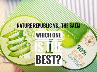 #FORUM The Saem VS Nature Republic, Aloe vera Mana yang Jadi Favorit Kamu?