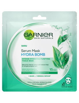 Garnier Serum Mask Hydra Bomb Green Tea