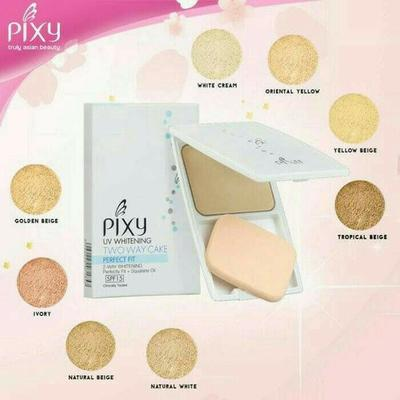 #NEWS Pixy UV Whitening Two Way Cake Perfect Fit, Sempurnakan Makeupmu!