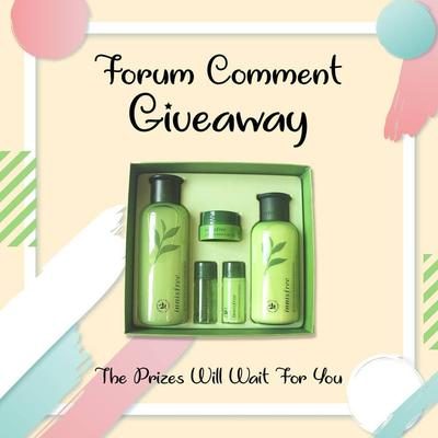 [GIVEAWAY ALERT] Forum Comment Giveaway #Part6 Worth to Rp 1.500.000, Ikutan yuk!