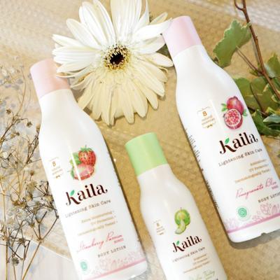#NEWS Kaila Lightening Skincare Body Lotion Keluarkan Rangkaian Produk Body Lotion dengan Bahan Alami