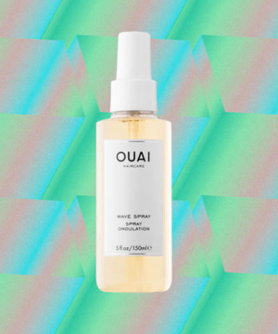 Wavy Hair In Just One Spray, Ulasan OUAI Wave Spray