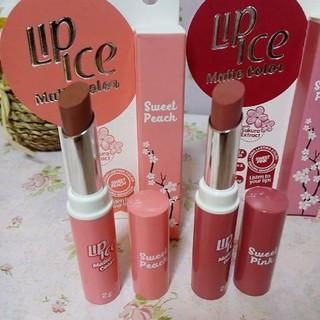 #NEWS Review Lip Ice Matte Color dan Matte Cream, Varian Lipstik Matte yang Super Lembap di Bibir!