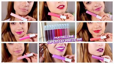 #NEWS Siap-siap Naksir Berat, Inilah Review Maybelline Superstay Matte Ink , Ladies!