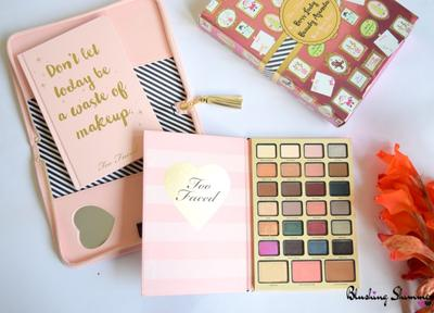 #NEWS Mengintip Gemasnya Bundling Kosmetik dan Buku Diary Too Faced Boss Lady Beauty Agenda Palette