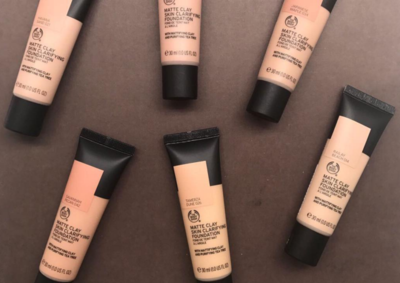 #NEWS The Body Shop Matte Clay Foundation, Hasil Makeup Matte High Coverage!