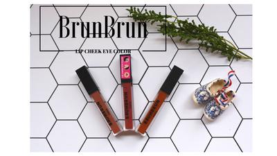 Praktis dan Ekonomis, Brunbrun Paris Lip Cheek Eye Color Siap Lengkapi Rutinitas Makeup Kamu!