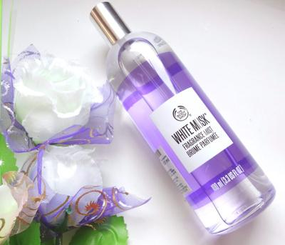 2. The Body Shop White Musk Fragrance Mist
