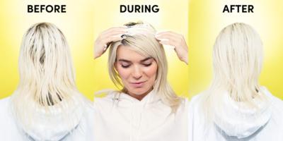 Aplikasikan Pada Rambut Berminyak