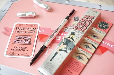 Review Benefit  Cosmetics Goof Proof Brow Pencil, Pensil Alis yang Tahan Lama!