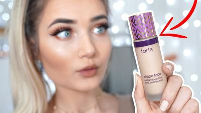 Review Tarte Shape Tape Matte Foundation: Your Instant Photo Filter In a Glass Bottle, Ladies!