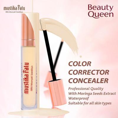 (NEWS) Hasil Makeup Sempurna dengan Produk Terbaru Mustika Ratu BEAUTY QUEEN Corrector Concealer