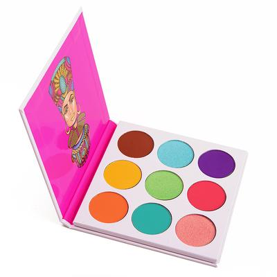 The Palette is for You Who Loves Colorful Eye Look!