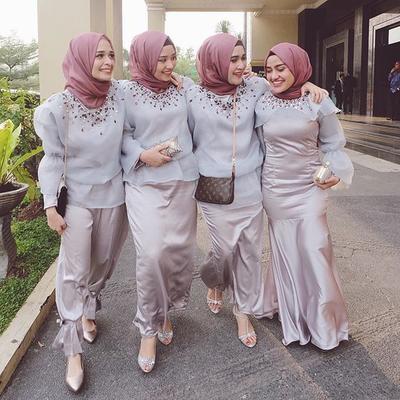 #FORUM Pilihan Model Baju Bridesmaids Buat Hijabers  yang Lagi Hits!