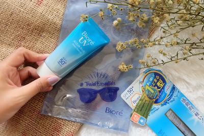 Biore UV Aqua Rich Watery Essence SPF 50+/PA+++ : Sunscreen Perlindungan Tinggi yang Nyaman di Wajah!