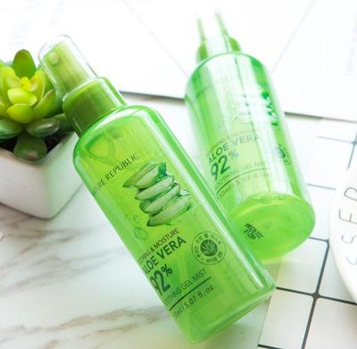 Review Nature Republic Aloe Vera 92% Soothing Gel Mist: Skincare Multi-fungsi!