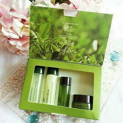 Innisfree Green Tea Skin Care Set dari Pulau Jeju Ini Ampuh Membuat Kulit Kamu Kenyal!