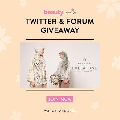 [GIVEAWAY ALERT] Mau Dapat Premium Hijab dari Ria Miranda? Yuk Ikutan Twitter & Forum Giveaway!