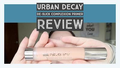 Review Urban Decay De-Slick Complexion Primer, Primer yang Membuat Wajah Matte dan Flawless Seharian!