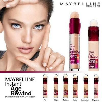 Maybelline Instant Age Rewind, Menghapus Garis Garis Halus dan Lingkaran Hitam Mata!