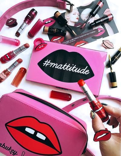 Ladies, Inilah Review Lipstik Mattitude Series Kolaborasi Shu x Yazbukey yang Super Edgy!