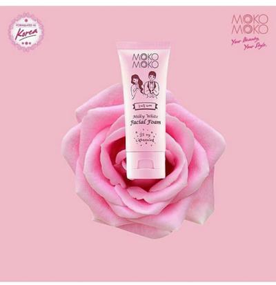 Moko Moko Milky White Facial Foam