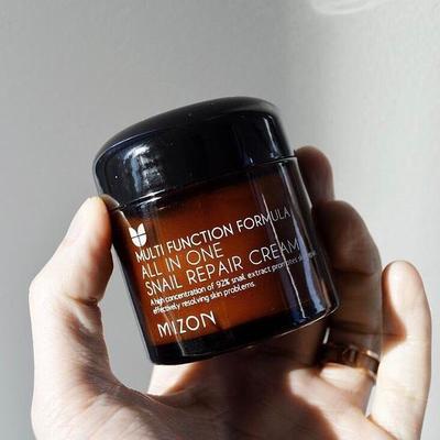 Dapatkan Kulit Sehat dengan Mizon All In One Snail Repair Cream