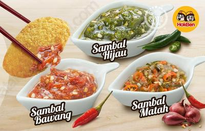 [FORUM] Makan Hokben Pakai Sambal Indonesia, Enak Nggak?