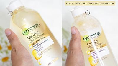 [FORUM] Garnier Micellar Oil Infused Bisa Bersihin Makeup Waterproof?