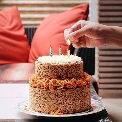FORUM] Kue Ulang tahun dari mi, Tertarik?