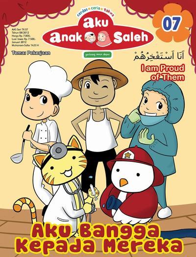 [FORUM] Inget gak sih sama majalah islam anak-anak jaman dulu Aku Anak Saleh?