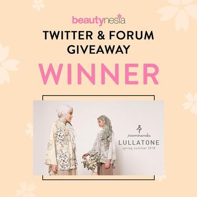 [GIVEAWAY ALERT] Pemenang Twitter&Forum Giveaway Berhadiah Premium Hijab dari Ria Miranda