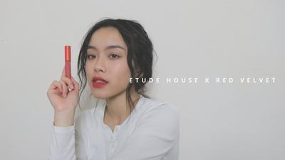 Etude House x Red Velvet Matte Chic Lip Lacquer, Liquid Lipstik Korea yang Siap Mengguncang Dunia Makeup!