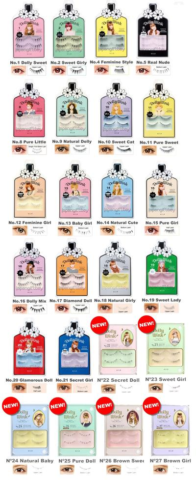 Varian Koji Dolly Wink Eyelash