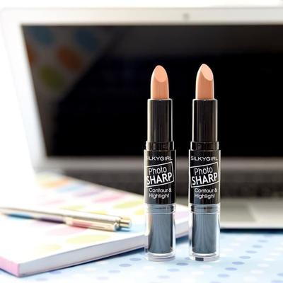 Silkygirl Photo Sharp Contour and Highlight, Produk Makeup Praktis dan Ekonomis