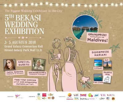 [EVENT] The Biggest Wedding Exhibition In The City  5th Bekasi Wedding Exhibition