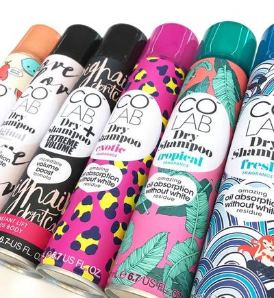 About Colab Dry Shampoo