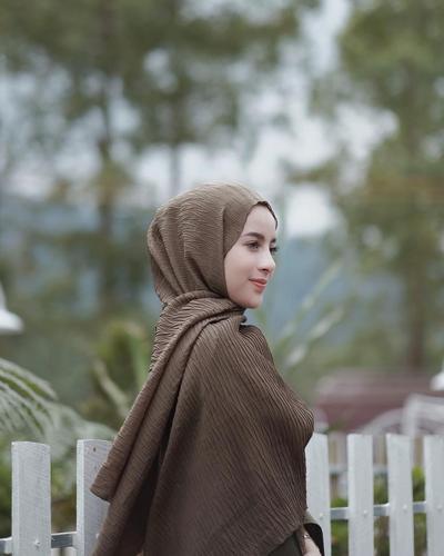 [FORUM] Hijabers, pede gak pake pleats scarf?