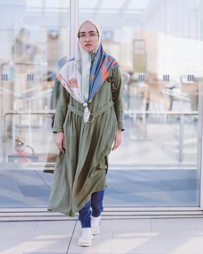 [FORUM] Gaya Hijab `Ikan Bawal` Tertarik Coba Nggak?