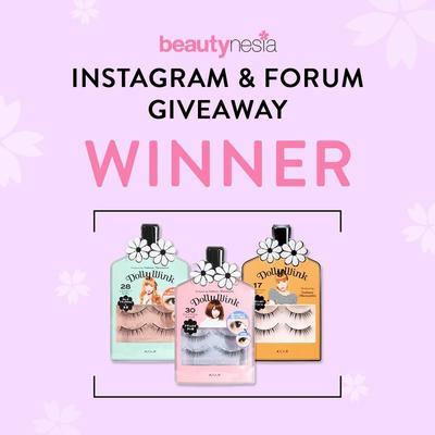 [GIVEAWAY ALERT] 20 Pemenang Instagram & Forum Koji Dolly Wink Eyelash Senilai Rp500 Ribu