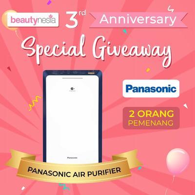 [Anniversary Special Giveaway] Jaga Kelembapan Alami Kulit dengan Panasonic Air Purifier, Bye Kulit Kering!